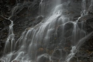 E waterfall