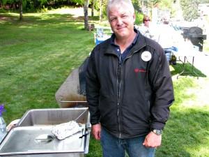 Salmon BBQ'er  Scott Patrick