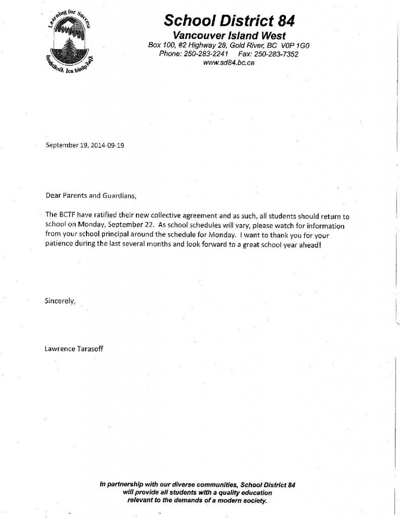 Sept 19 SD letter