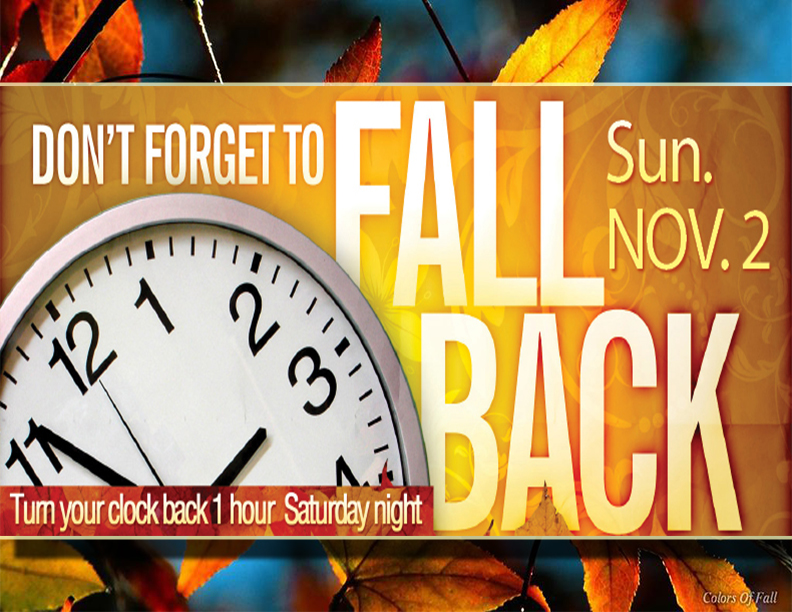 Fall Back 2014