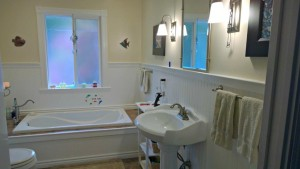 Bathroom Upstairs Gold River House for Sale