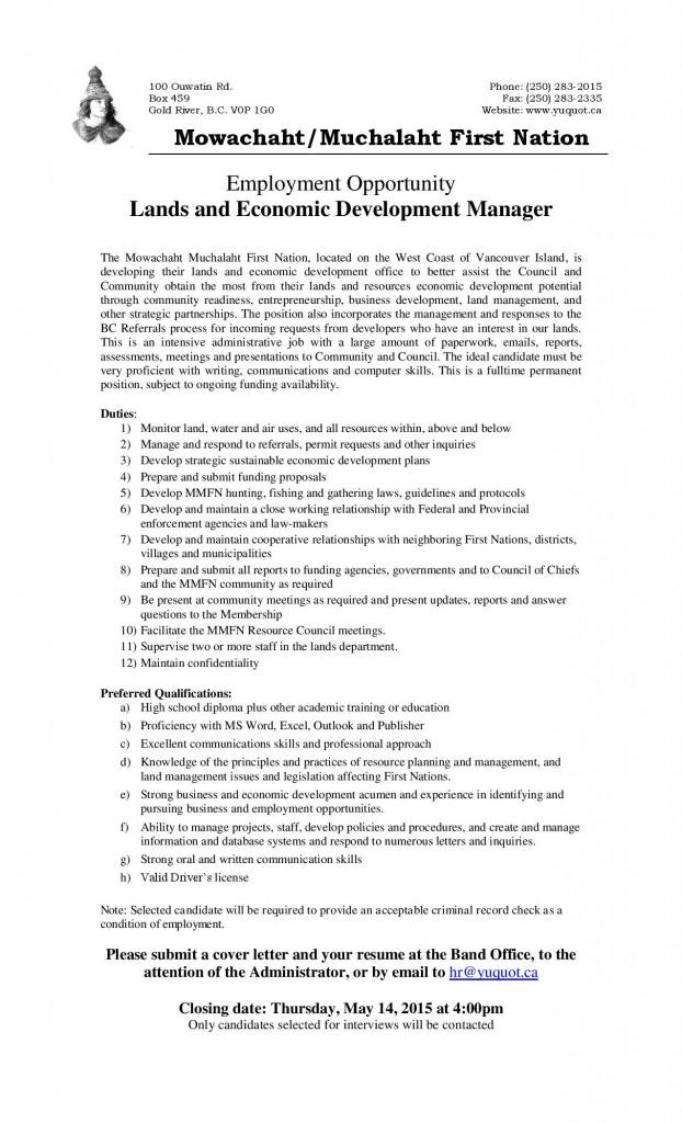 Job Posting - Lands  Economic Development (2)-page-001