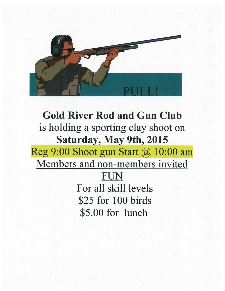 Gold River Rod & Gun Sporting Clay Shoot