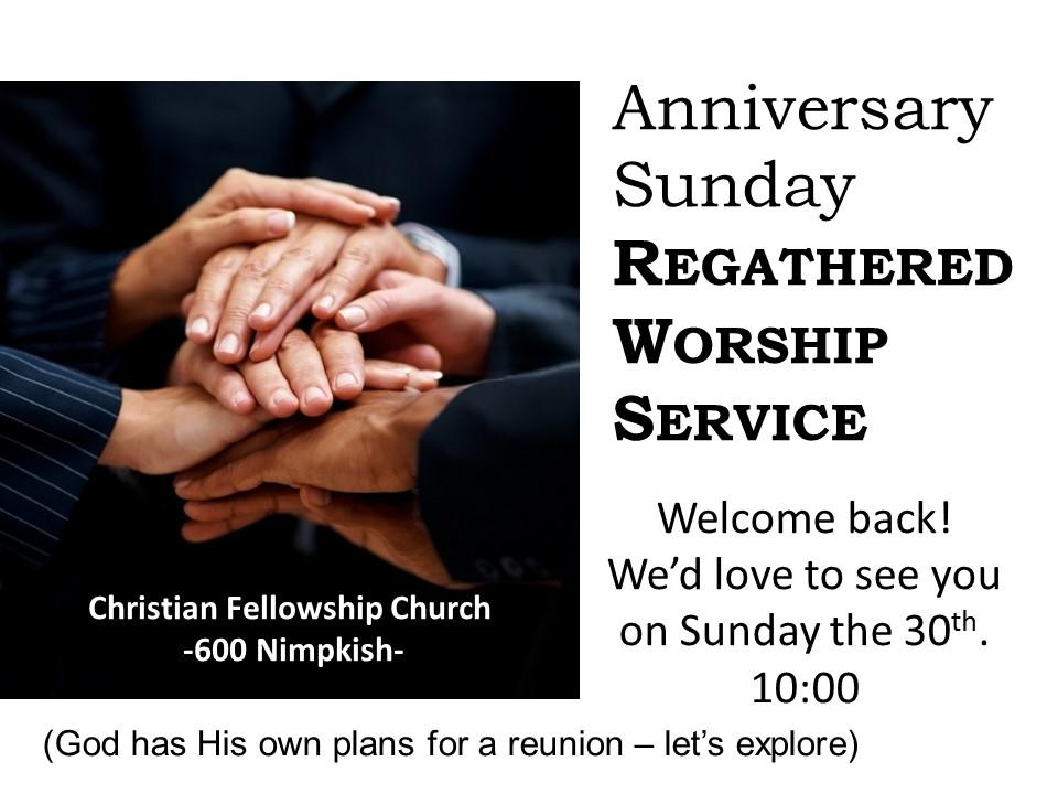 Reunion Worship 2015
