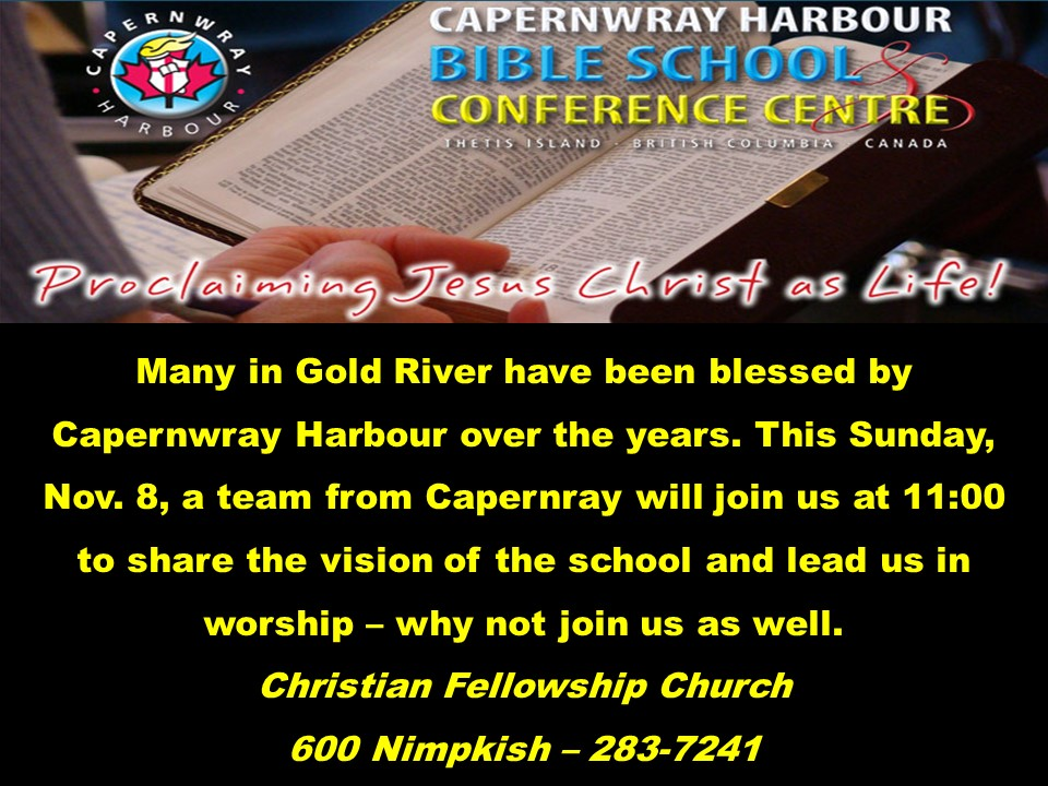 Capernway Harbour Nov 8 2015