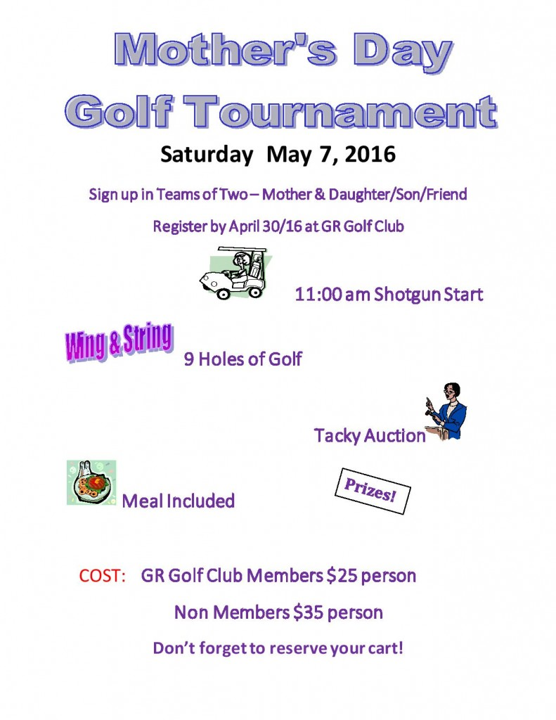 Mothers Day Golf Tournament