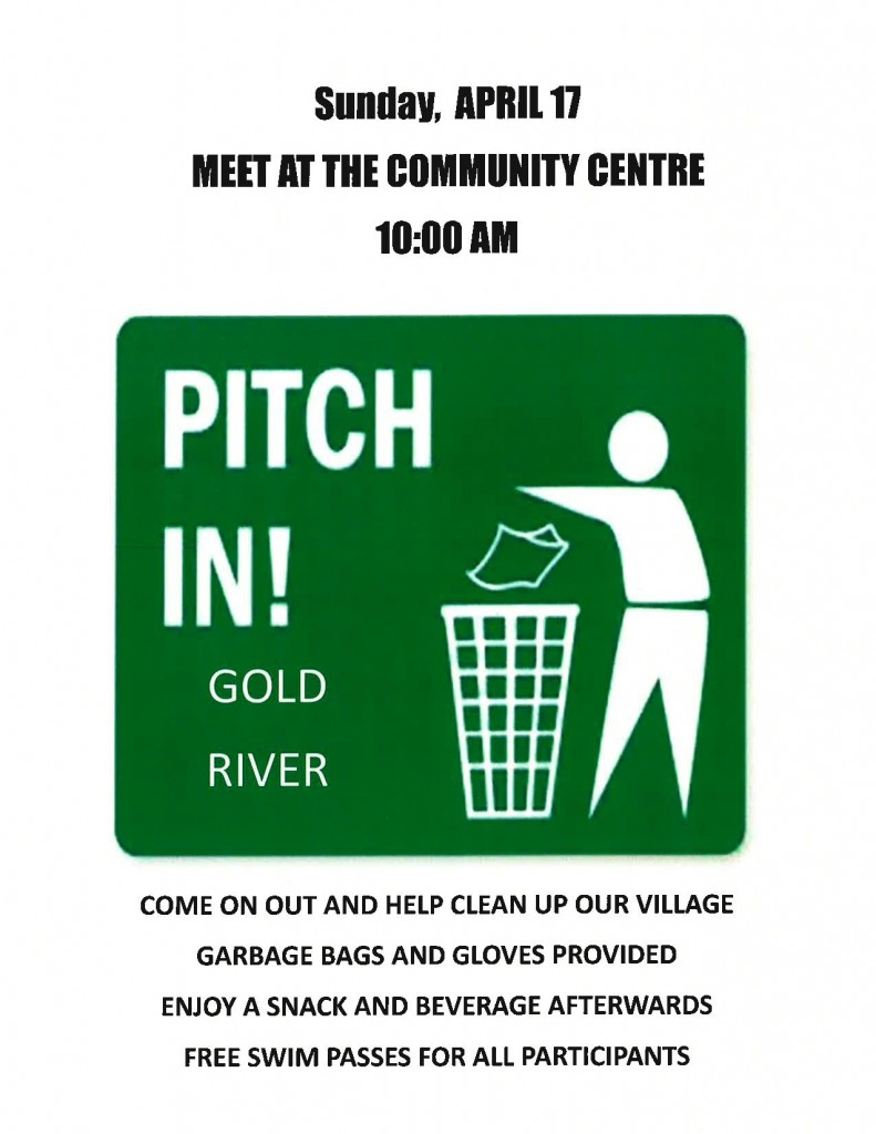 Pitch In Gold River
