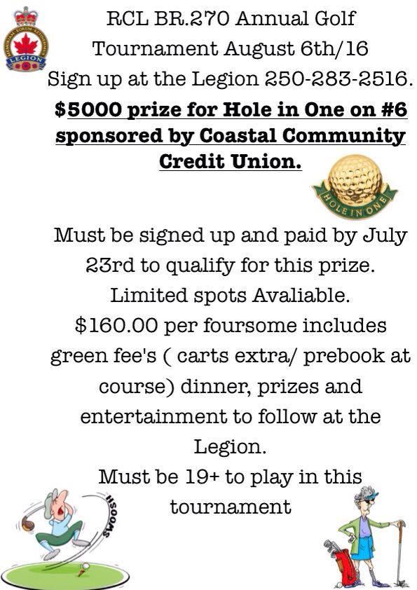 RCL Golf Tournament