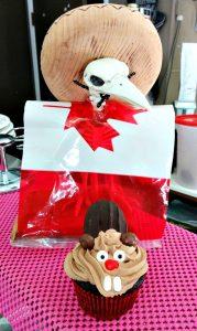 Beaver Cupcakes