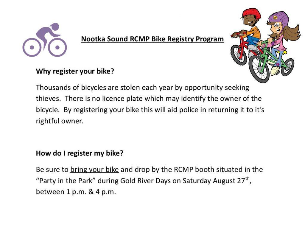 Bike Resistry