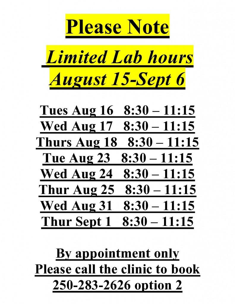 lab xray closed