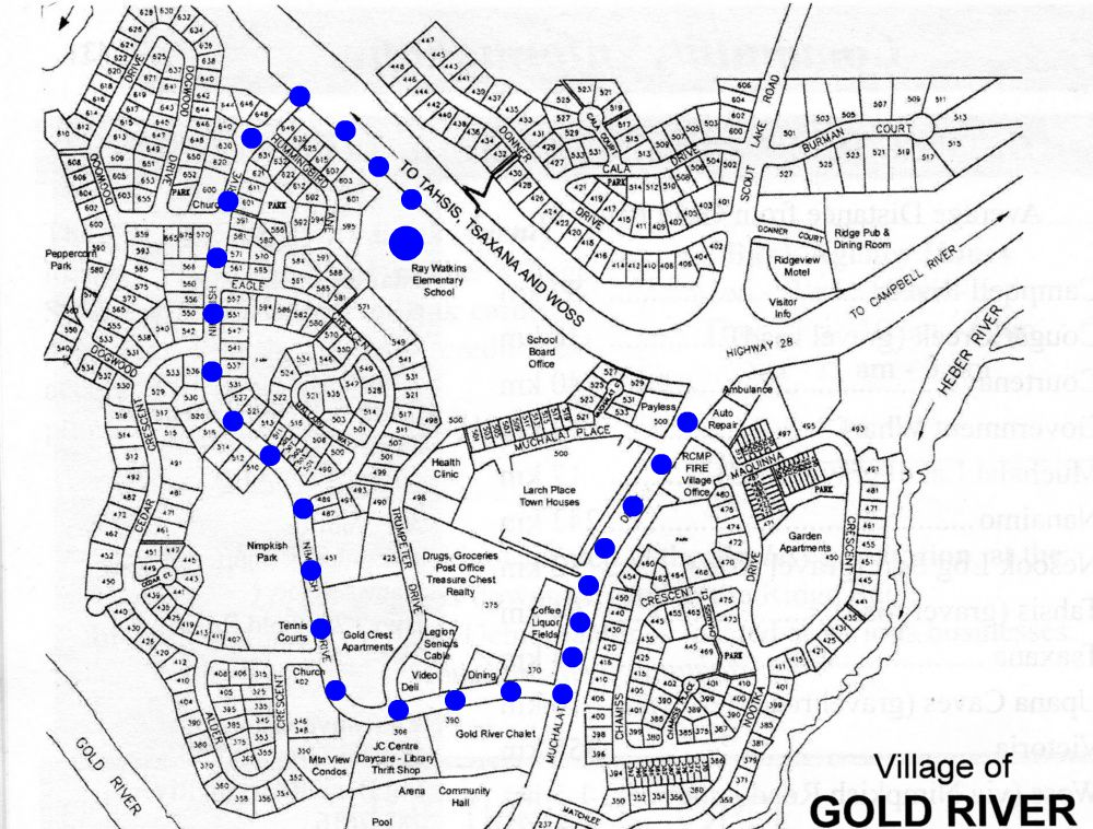 50th parade route