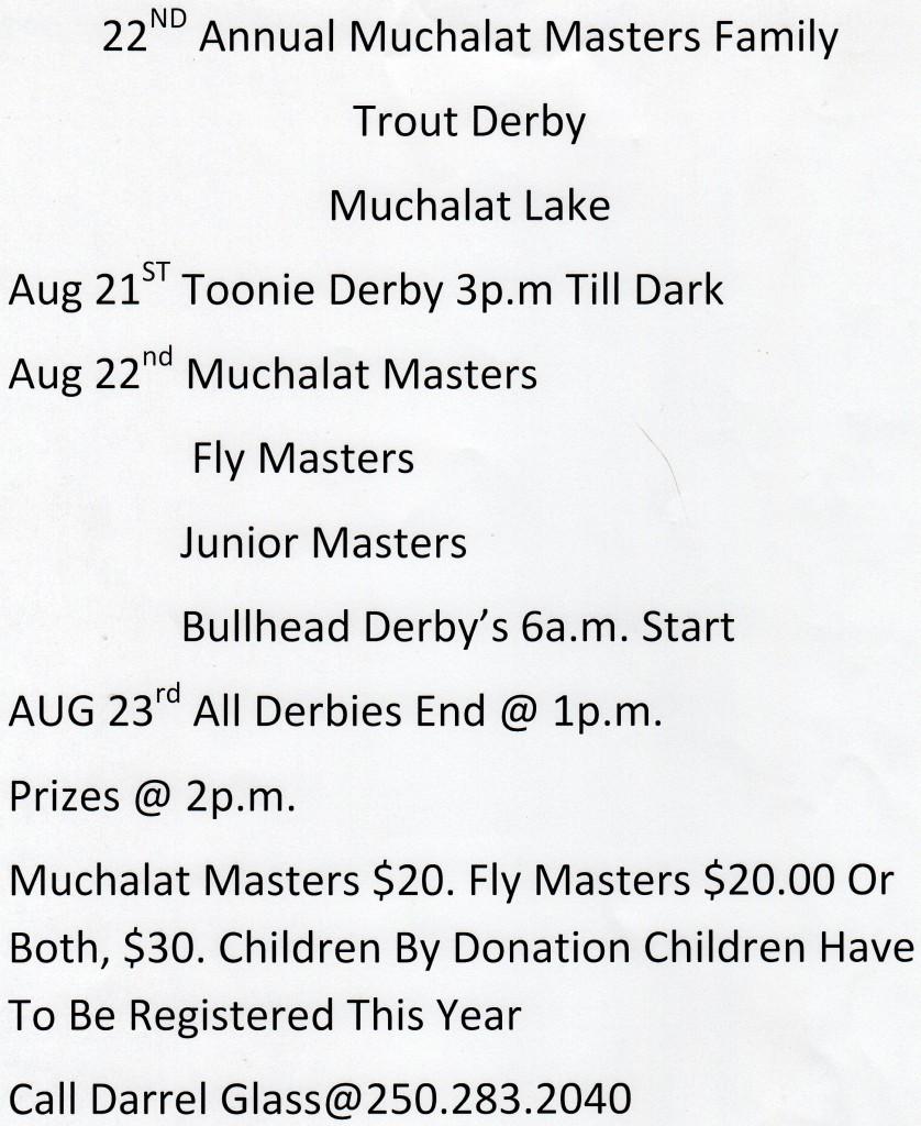 Derby Schedule