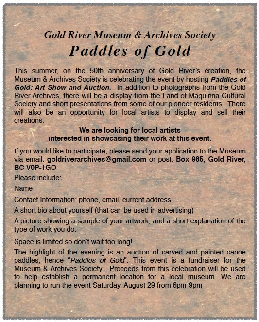 Paddles of Gold