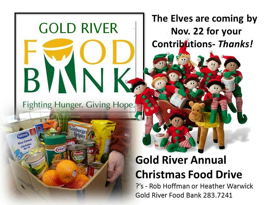 Food Bank Christmas Food Drive 2015