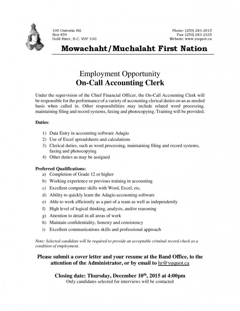 JobPosting-OnCallAccountingClerk-Nov2015