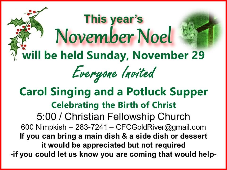 November Noel