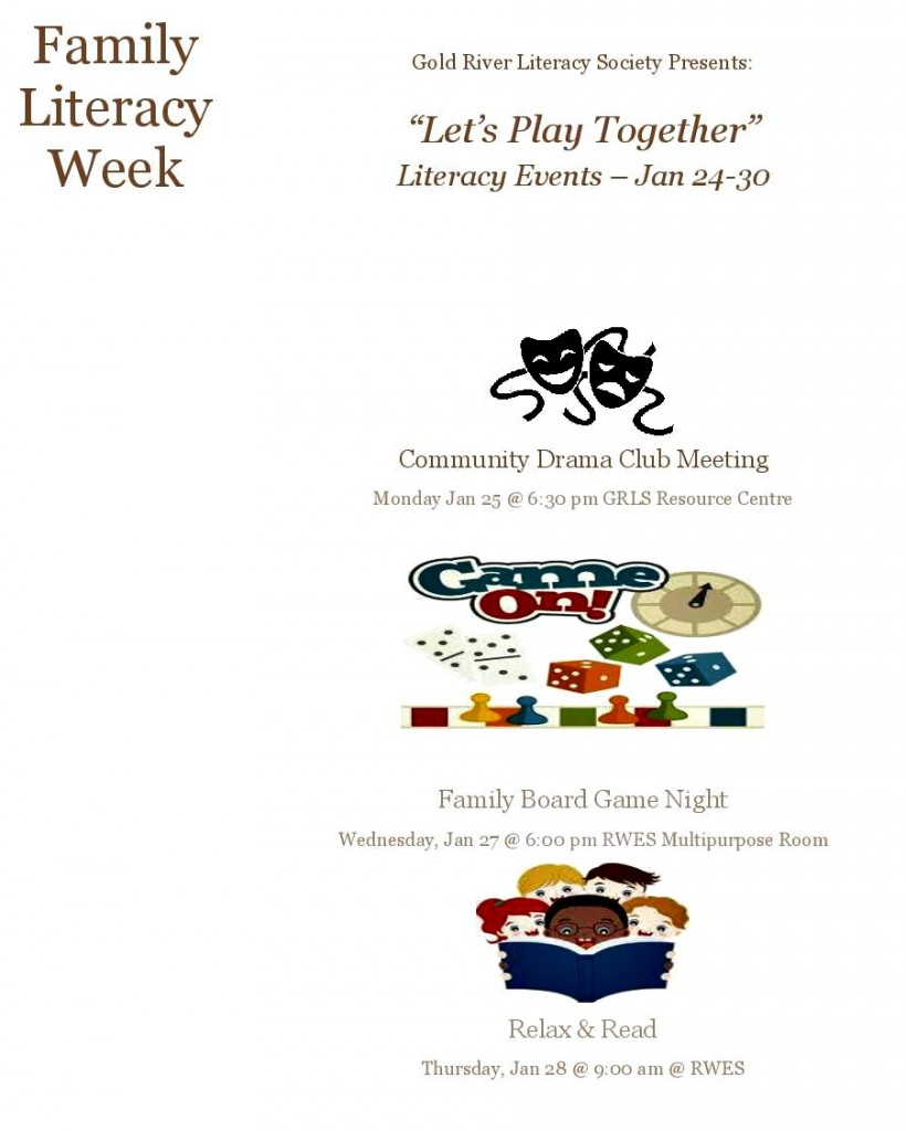 Family Lit Week Poster 2016