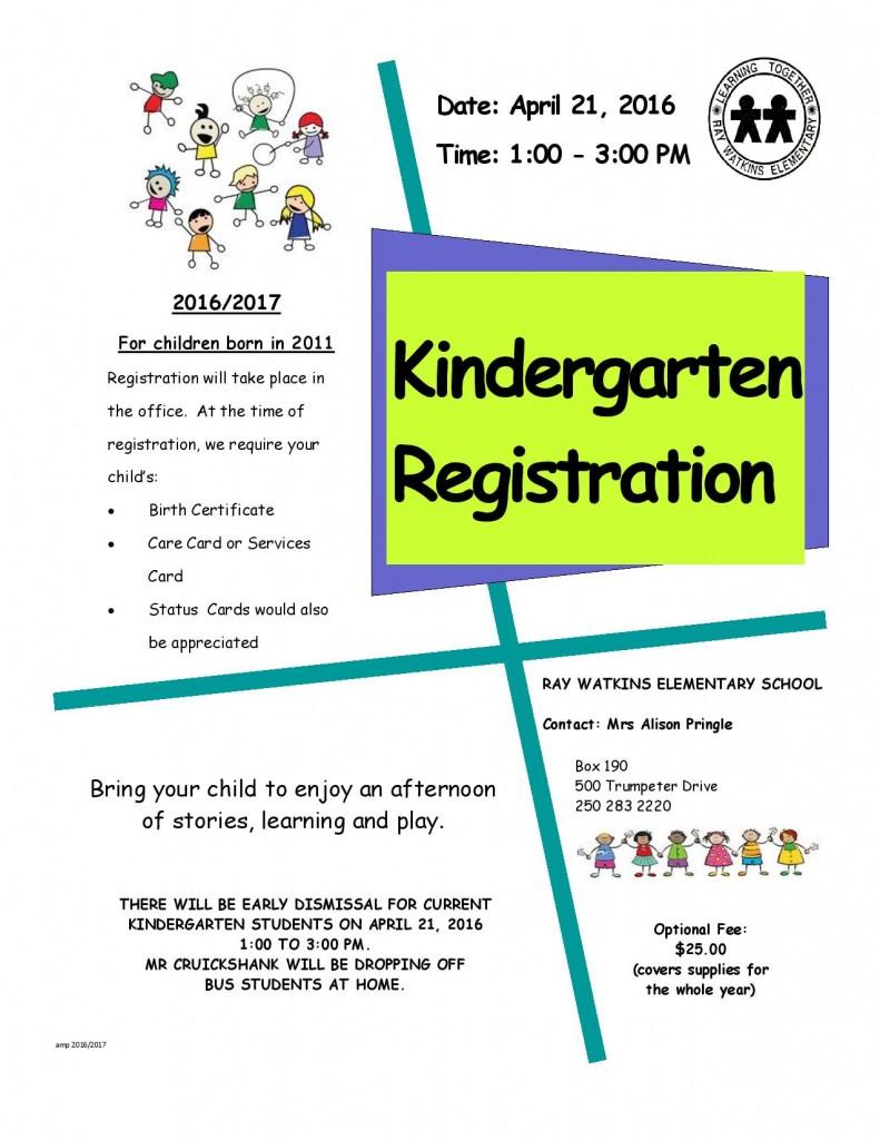 K Registration Poster 2016