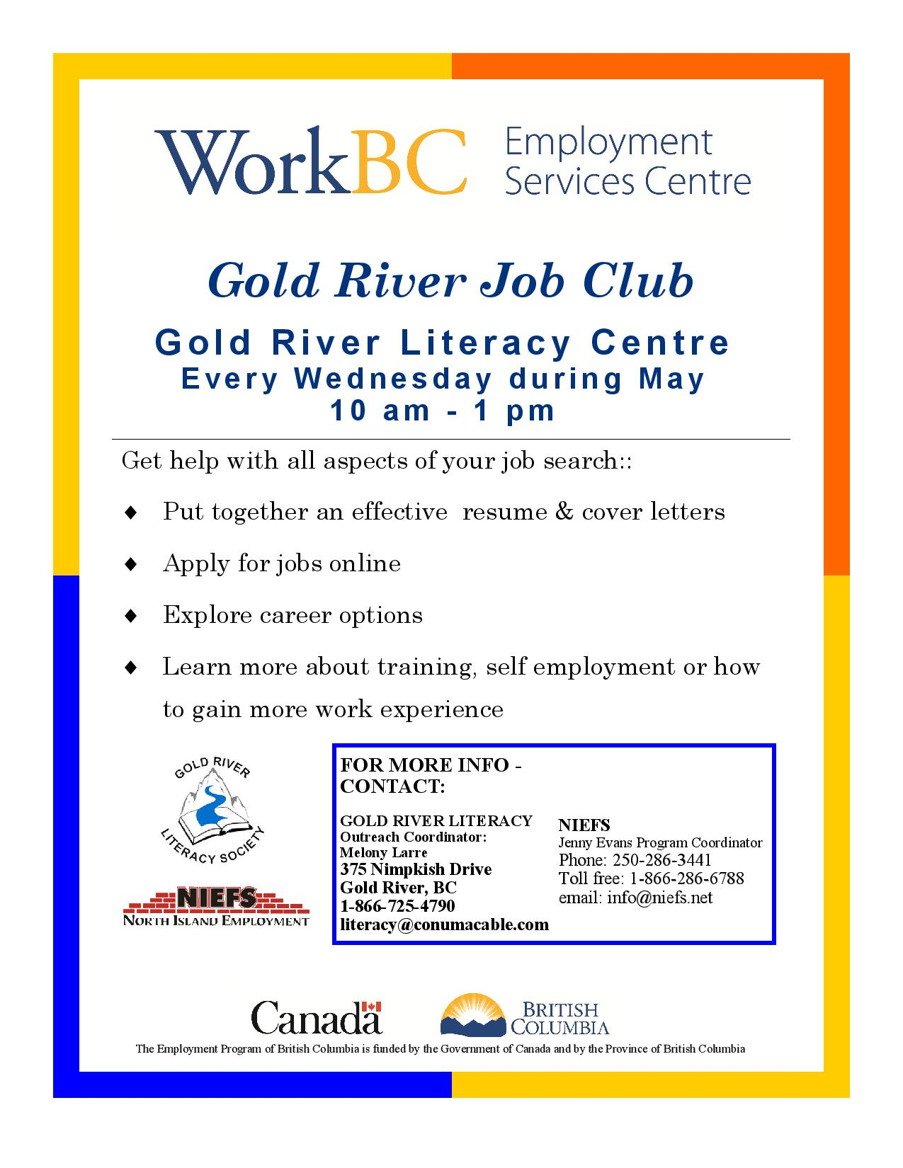goldriver job club ad