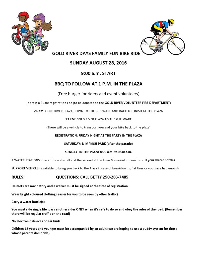 2016 FAMILY BIKE RIDE