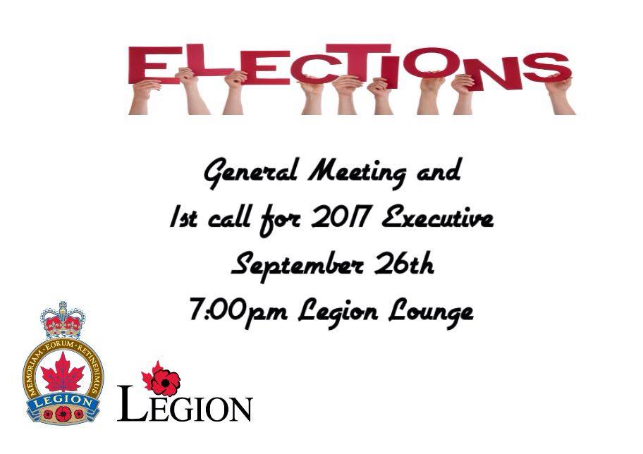 Legion Meeting
