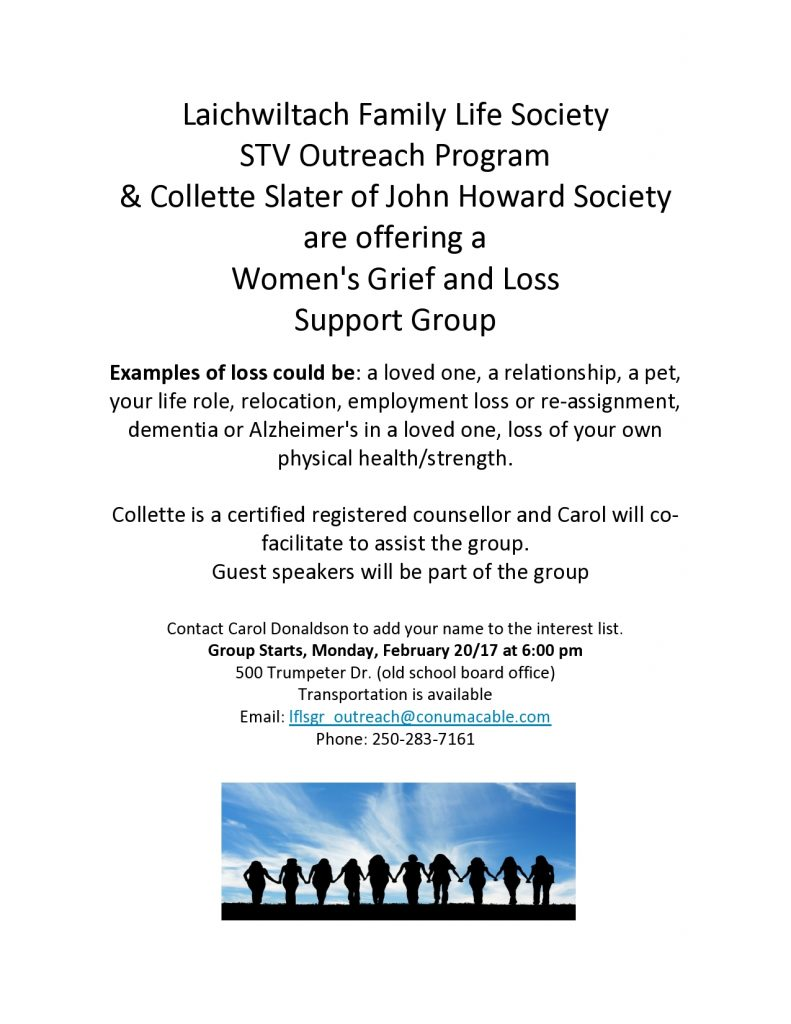 grief and loss poster